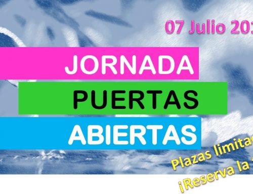 Jornada puertas abiertas. 7 Julio 2016